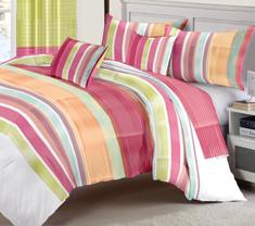 Orazio Stripes Comforter Set 135x220