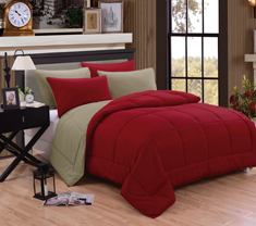 Mateo Reversible Comforter Set of 3