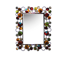 Boho Multi Circles Mirror