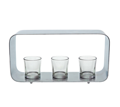 Curve Table Tea Light Holder