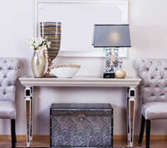 Kingston Console With Mirror