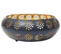 Bahara Round Tea Light Holder