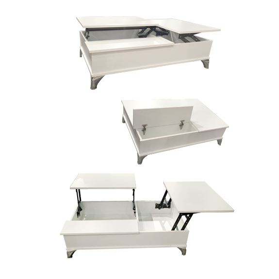 Masten Coffee Lift Top Table - White - Coffee Tables & Side Tables Home Box