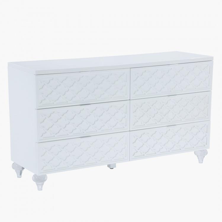 Arabesque 6-Drawer Dresser