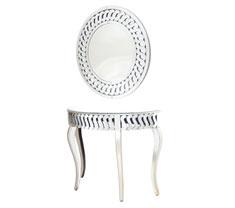 Ellora Console with Mirror