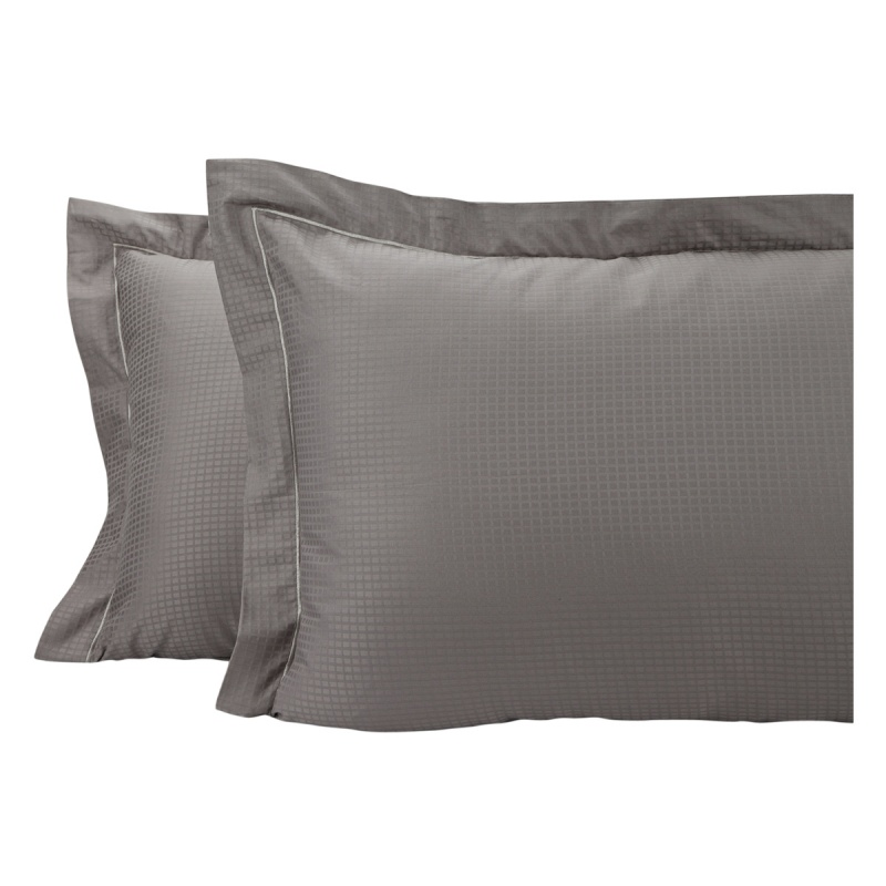 Indulgence Oxford 2-piece Pillow Cover - 50x75 cms