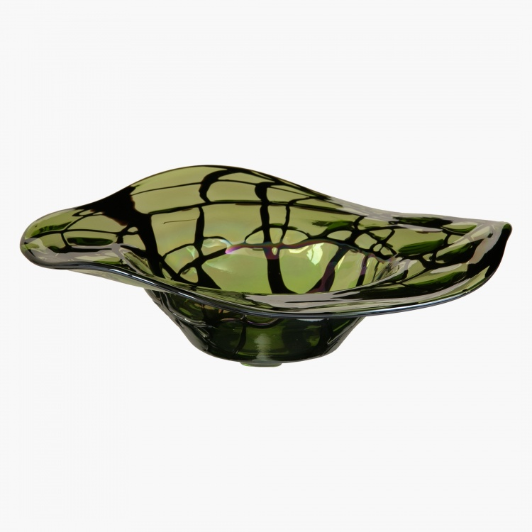 Illusion Decorative Bowl - 40x40x10.5 cms