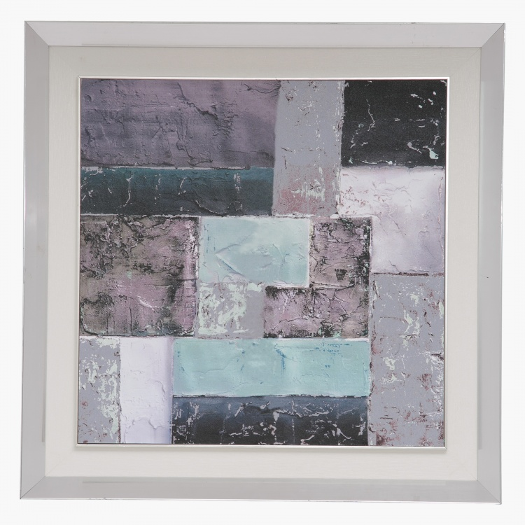Abstratic Framed Prints with Gel Coat - 60x3.8x60 cms