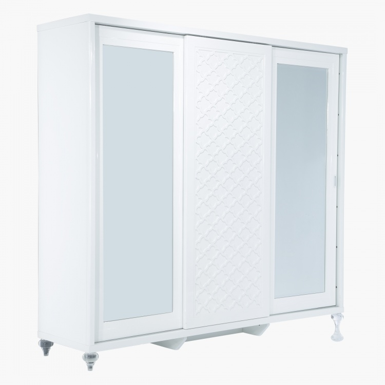 Arabesque 3-Drawer Sliding Wardrobe