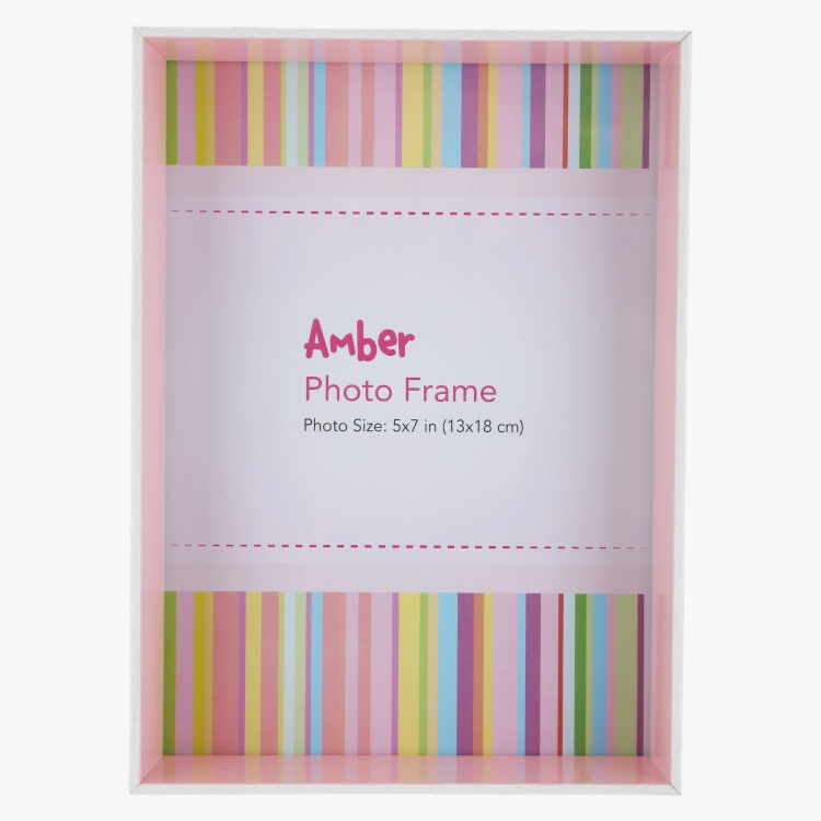 Amber Photo Frame - 5x7 inches