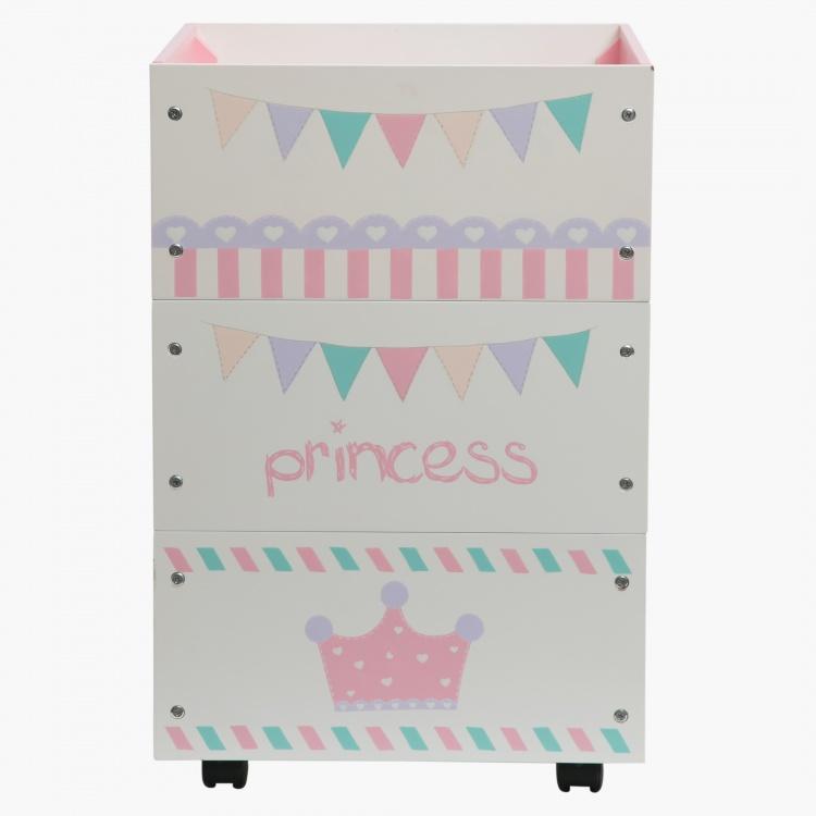 Princess Stackable Storage Boxes