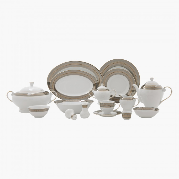 Arab Mystery 106-Piece Dinner Set