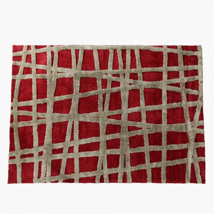 Criss Cross Rug - 160x230 cms