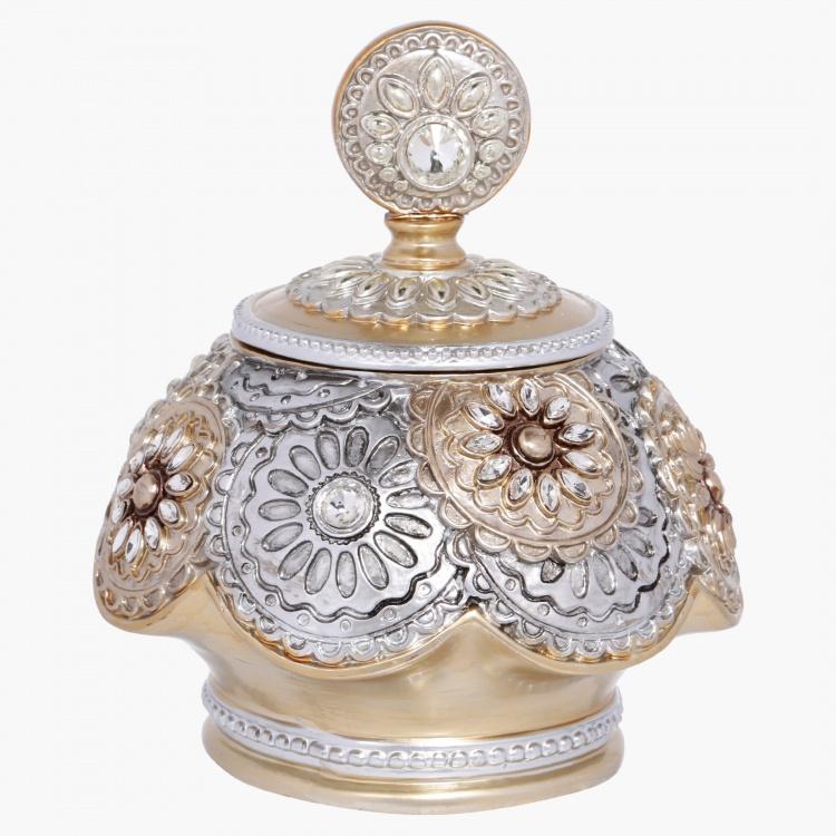 Viviette Decorative Pot - 19x19x22 cms