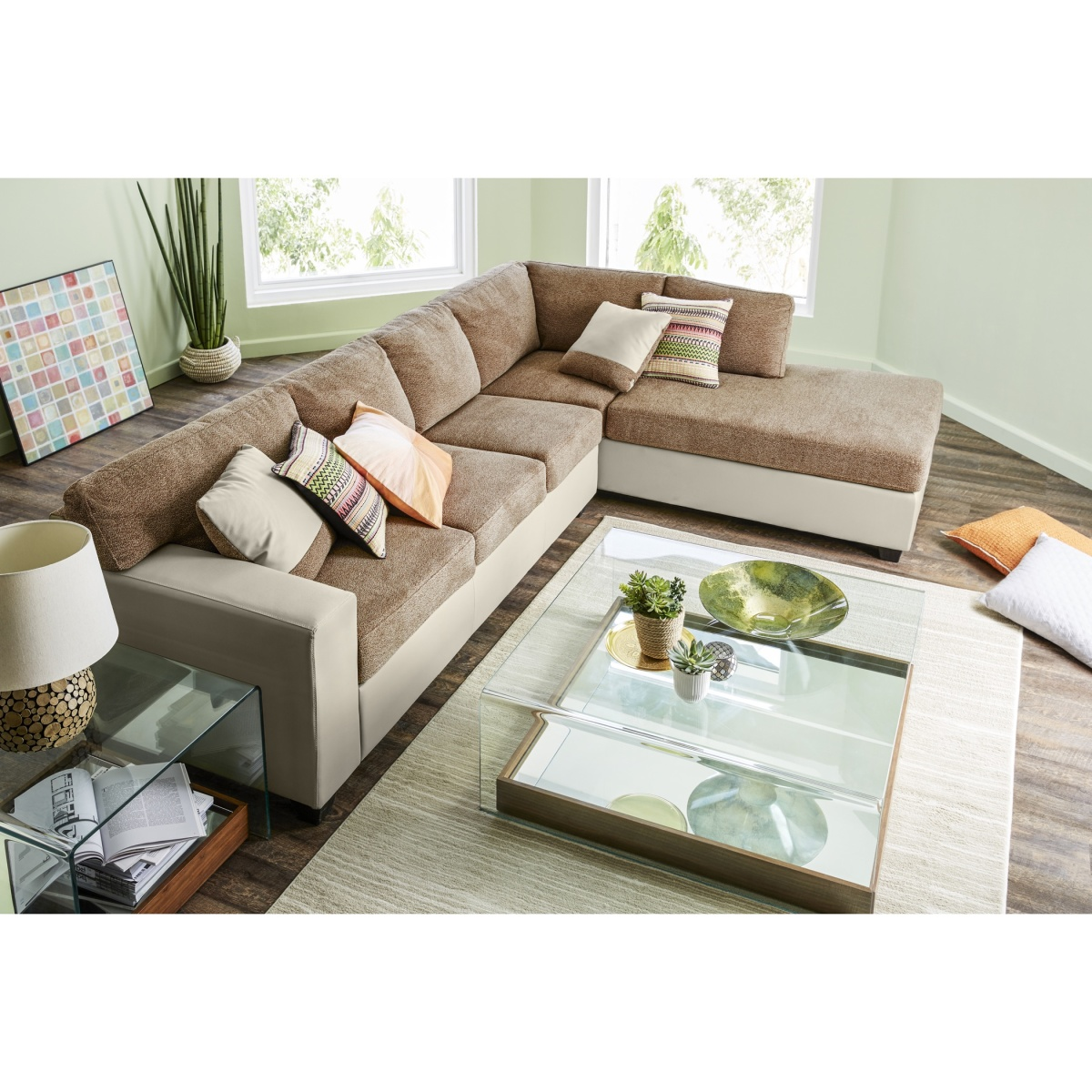 Jumbo 4-Seater Right Corner Sofa