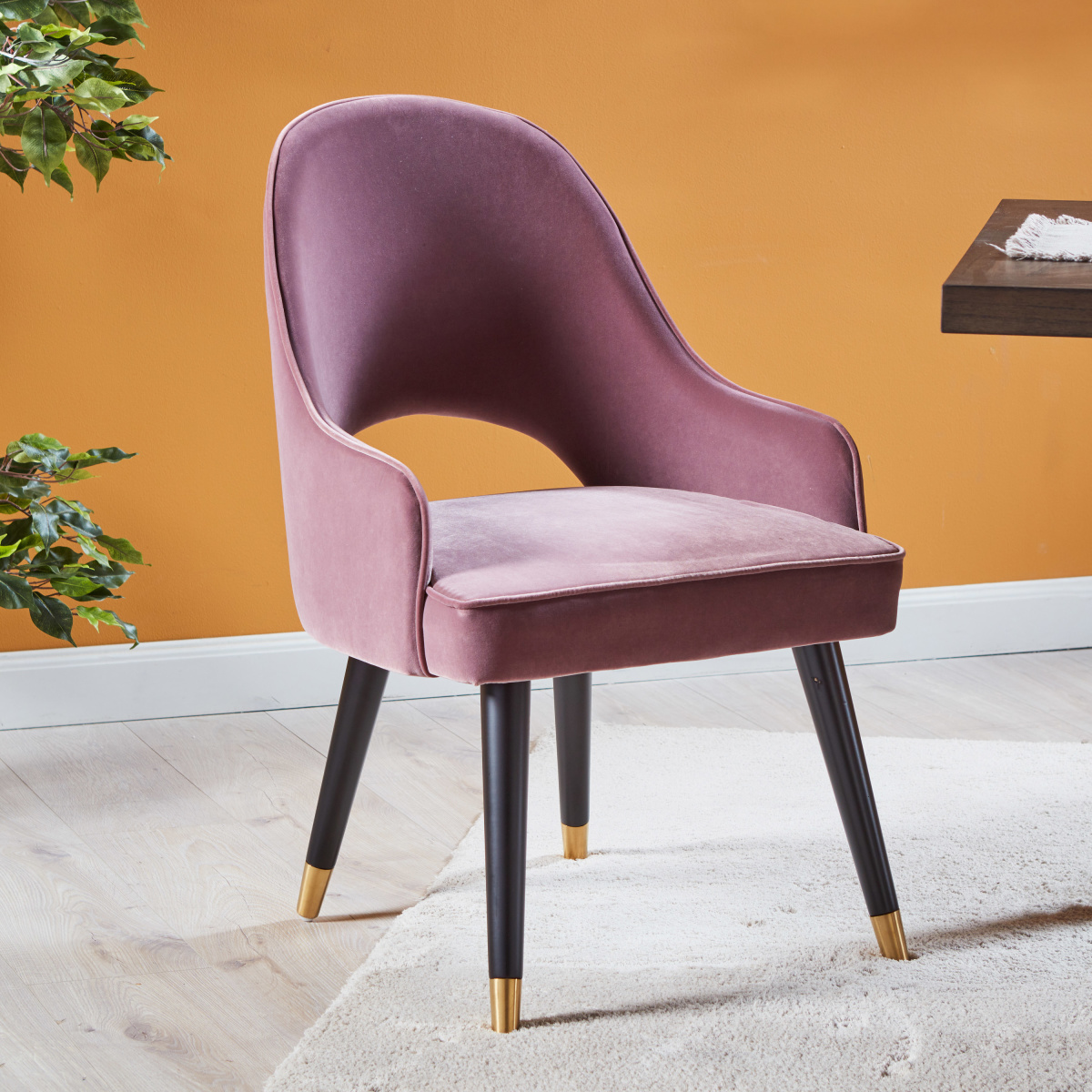 Monarch Arm Chair- Pink