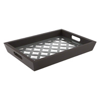 Art Serving Tray 42x30 cms