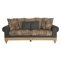 Aban Teal 2-seater Sofa