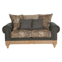 Aban Teal 3-seater Sofa