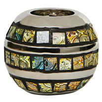 Shine Mosaic Tealight Holder Small