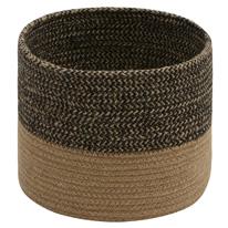 Chino Braided Jute Basket 19x23 cms