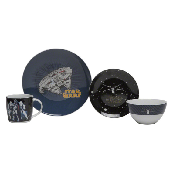 Star Wars Tableware - Set of 4  sc 1 st  Home Centre & Home Centre
