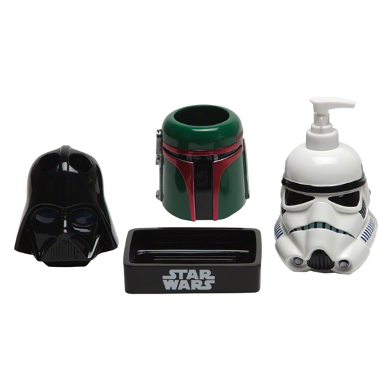 Star Wars The First Order Masks Bath Accessories - Set of 4