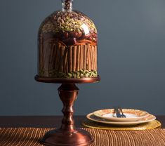 Oli Cake Stand (with dome)