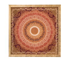 Sun tapestry framed art